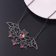 cute, Bat, Fashion, Jewelry