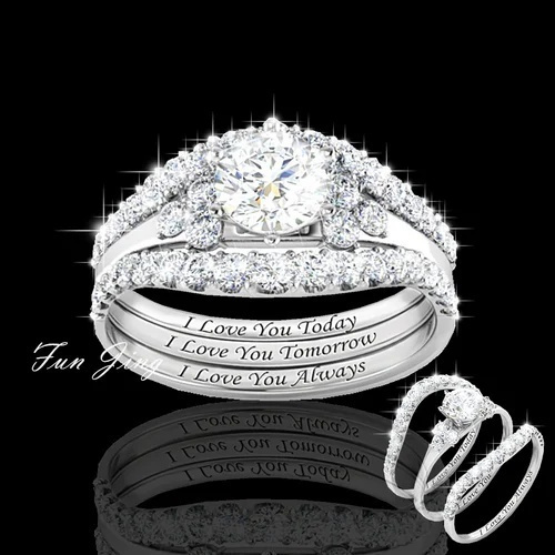 diamondringforwomen, engagementringset, DIAMOND, wedding ring