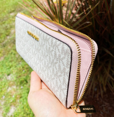 pink, Wallet, Zip, blossom