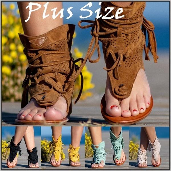 Summer, Tassels, Sandals, Women Sandals