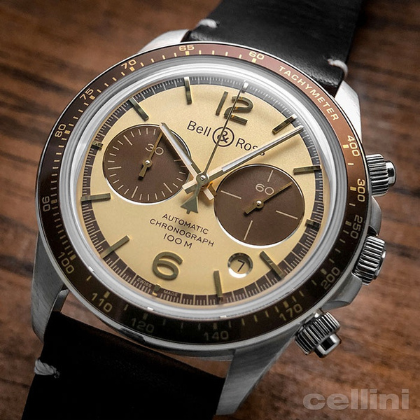 Chronograph, watches for men, leather, leather strap