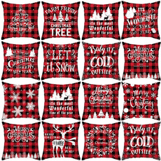 christmaspillowcase, decoration, Christmas, soft pillowcase