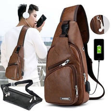 Outdoor, usb, leather, Travel