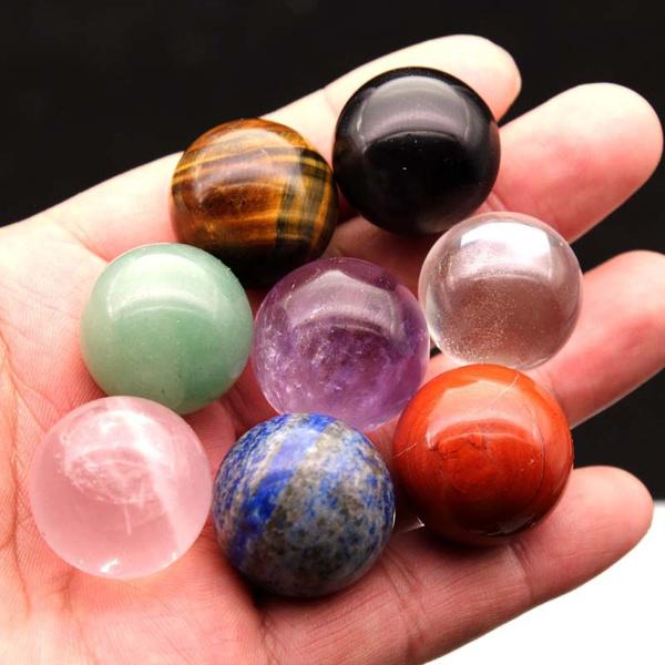 Beautiful, Natural, crystalball, handpolished