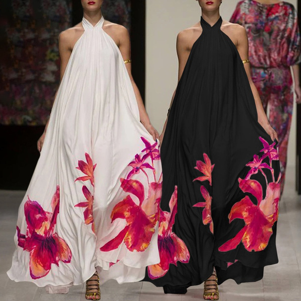 Summer, dressesforwomen, halter dress, Halter