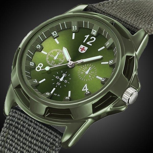Army, quartz, armywatch, Waterproof