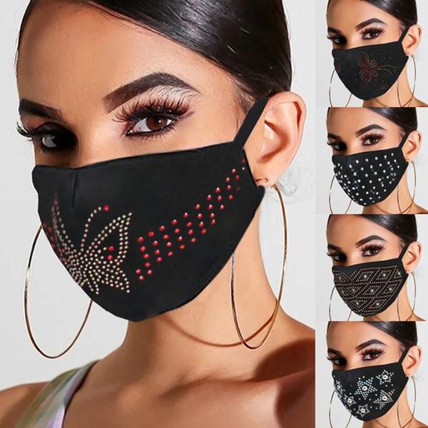 adjustablemask, Cotton, sequinmask, protectivemask