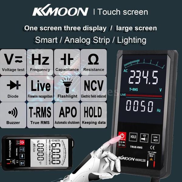 Flashlight, digitalmultimeter, voltagemeter, Multimeter