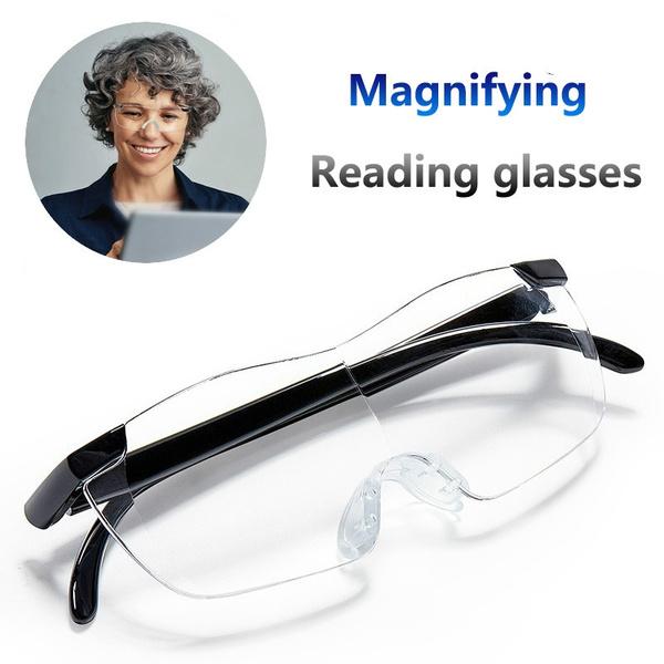 drivingglasse, 16timesmagnification, rimles, presbyopicglasse
