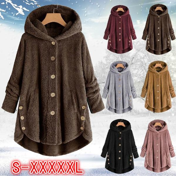 Fleece, hooded, Plush, Winter