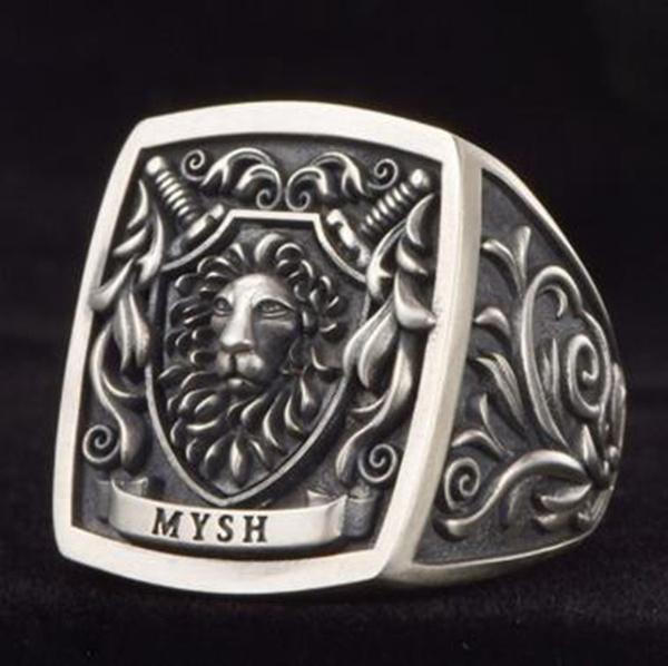 lionring, ringsformen, Head, Jewelry