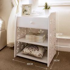 bedroomrack, woodencabinet, Home Decor, bedsiderack