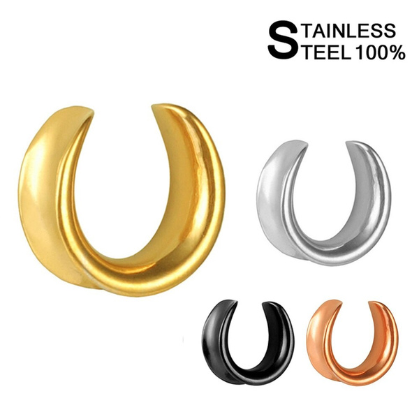 Steel, black, Jewelry, gold