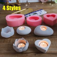candlemoldsilicone, heartcandlemold, candlestickmolding, stonemold