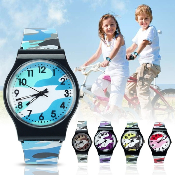 kidswatch, quartz, silicone watch, Waterproof Watch