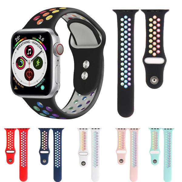 applewatchband40mm, rainbow, rainbowbandforapplewatch, applewatchband42mm