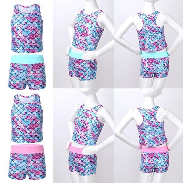 swimsuitforgirl, fishscalesbikini, kidsswimsuit, Summer