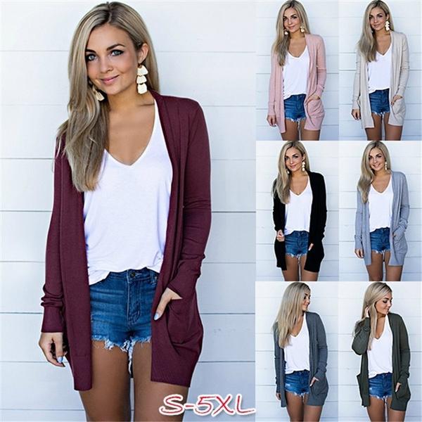 Plus Size, Sleeve, Long Sleeve, Coat