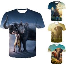 Summer, Shorts, plussizetshirt, animal print