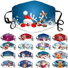 festivalmask, Christmas, santaclausrudolph, christmasmask