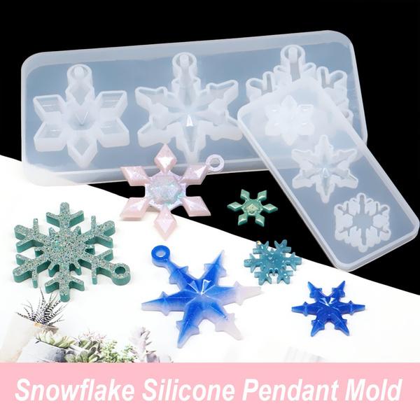 Necklace, snowflakemold, jewelrymakingtool, Key Chain