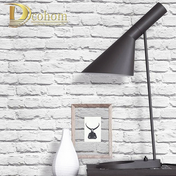 Vintage Rustic White Brick Wallpaper Roll Bedroom Dinning Living Room Wall Covering Modern 3d Wall Paper Home Decor Wish