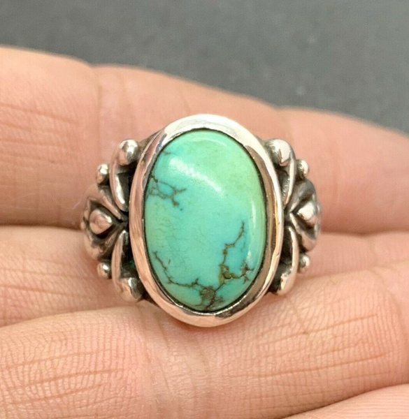Sterling, Turquoise, Jewelry, 925 silver rings