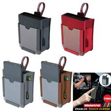 Multifunctional, phone holder, Hobbies, leather