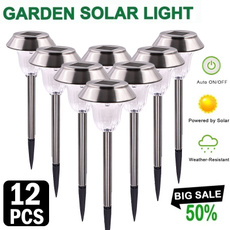 Outdoor, led, ledsolarlawnlamp, Waterproof