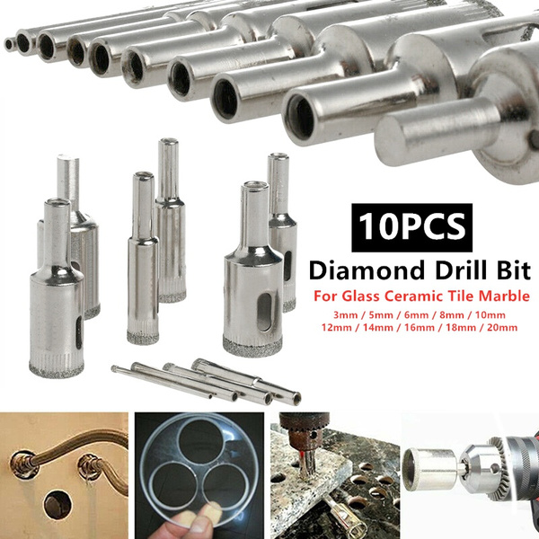 16mm Hole Saw Hole Cutter for Glass Ceramic Marble Tile Diamond Drill Bit