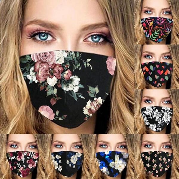 Outdoor, flowersmask, unisex, Masks