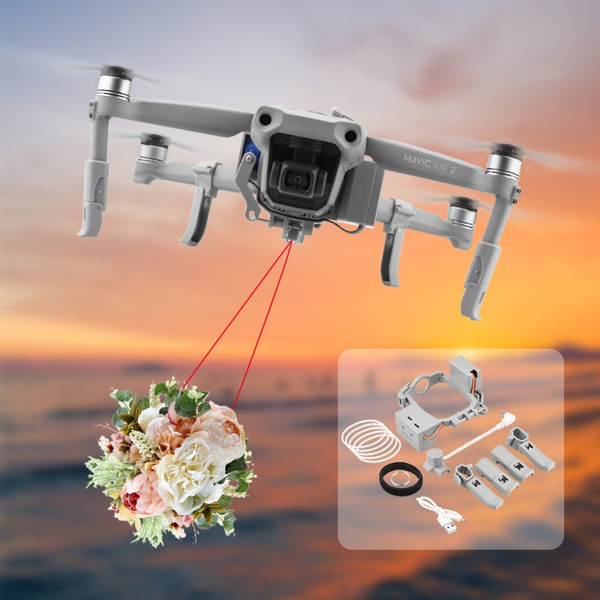 Air Dropping Wedding Proposal Dispenser Durable Drone Thrower for DJI Mavic PRO