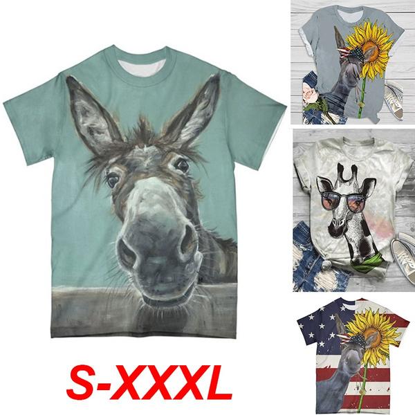blouse, Plus Size, donkeytshirt, Shirt