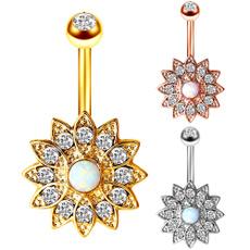 Steel, Flowers, Jewelry, Sun