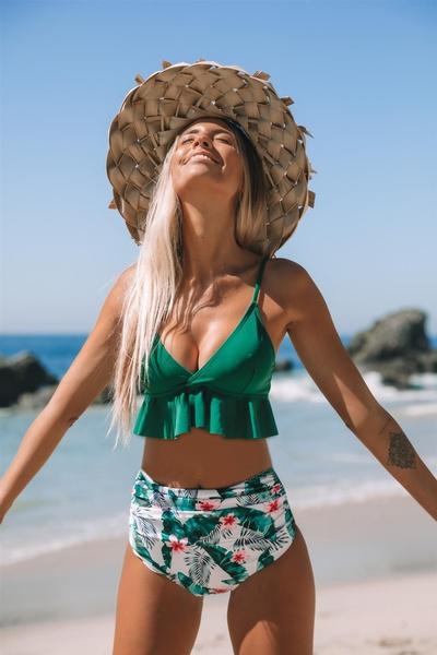 Summer, ladyswimsuit, women beachwear, bikini set
