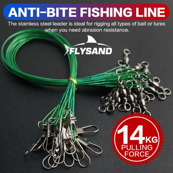 Steel, antibite, wireleader, fishingwire