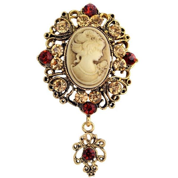 longbrooch, Cameo, Jewelry, Gifts