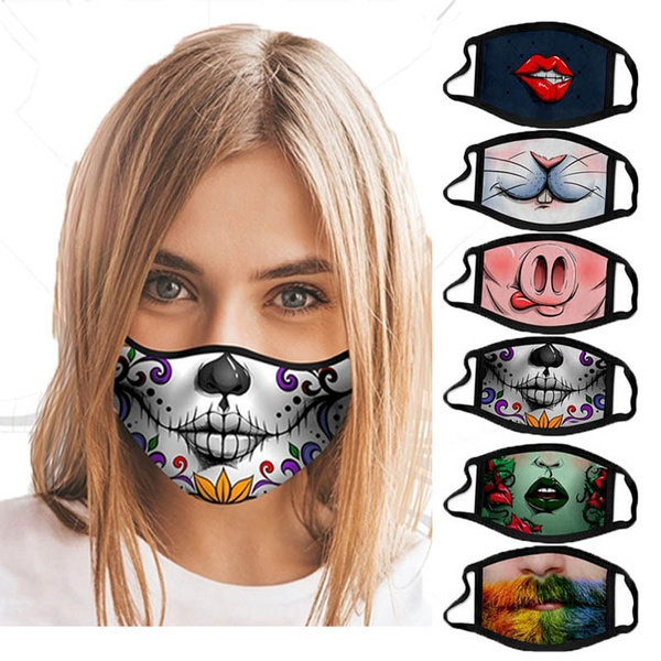 Funny, Cotton, Fashion, mouthmask