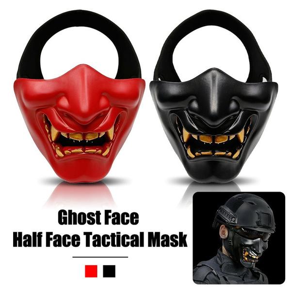 Demon, paintballmask, halffacemask, airsoftmask