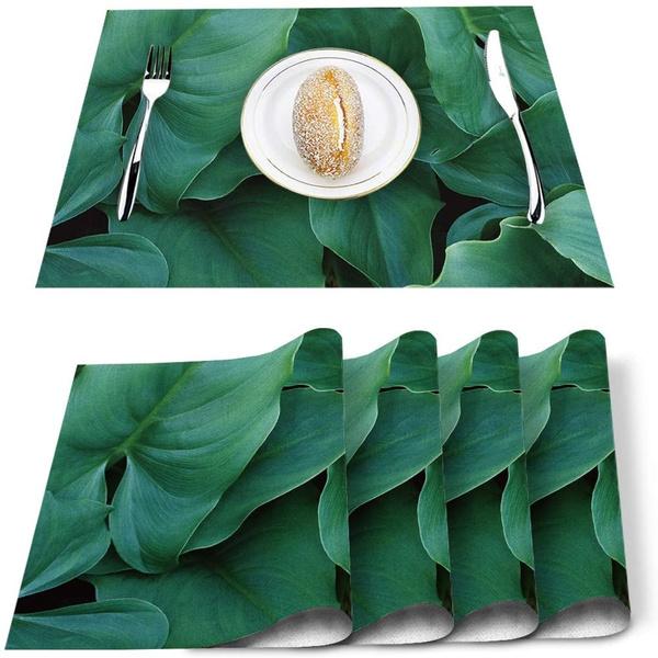 Summer, tablemat, tablematssetof6, Tree
