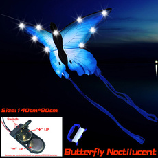 butterfly, Outdoor, led, kite