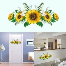 decoration, decalwallart, Home Decor, Sunflowers