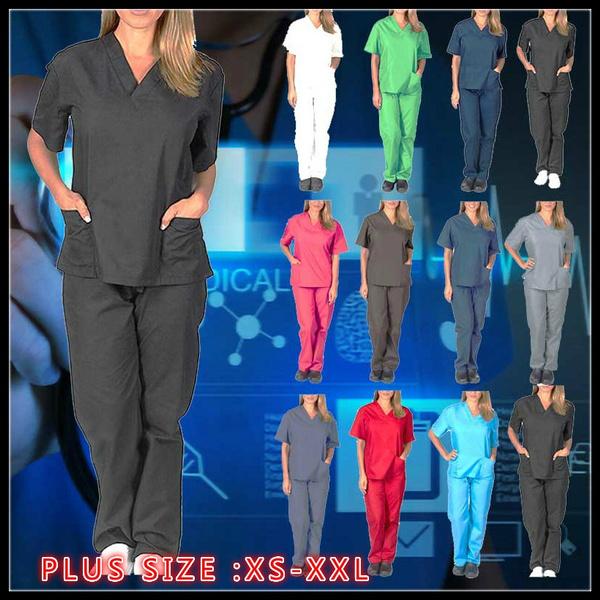 sleeve v-neck, workinguniform, Shorts, medicalclothe