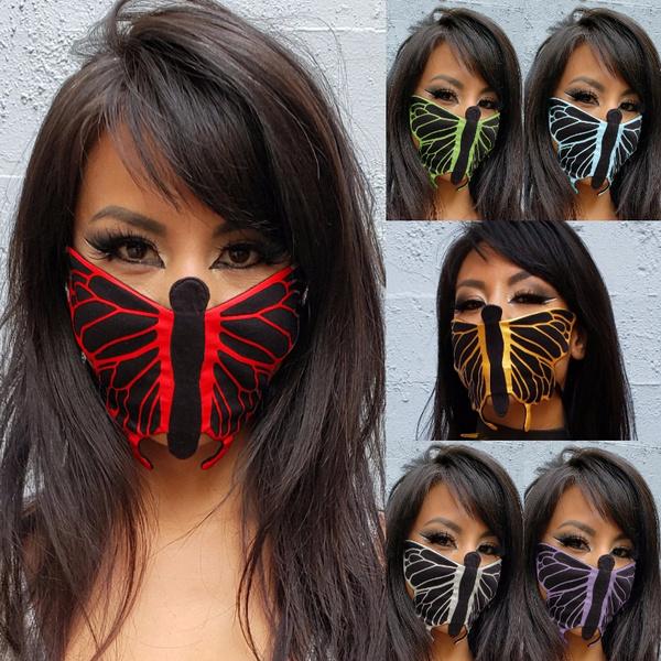 butterfly, dustmask, outdoorsmask, butterflymask
