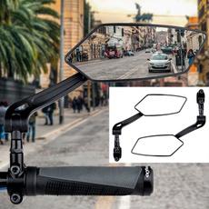 bicyclebackmirror, Cycling, bikerotatablebackmirror, bikehandlebarmirror