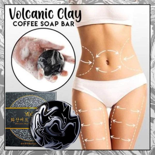 volcanicsoap, volcanicclaysoap, coffeeslimmingsoap, slimmingsoap