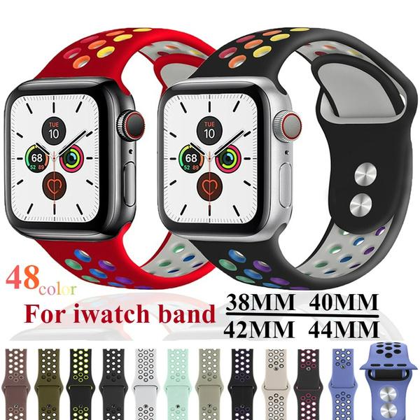 applewatchseries4watchband, sportsiliconeiwatchband, nikesiliconeiwatchband, Silicone