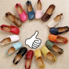 Flats, Fashion, Food, leather