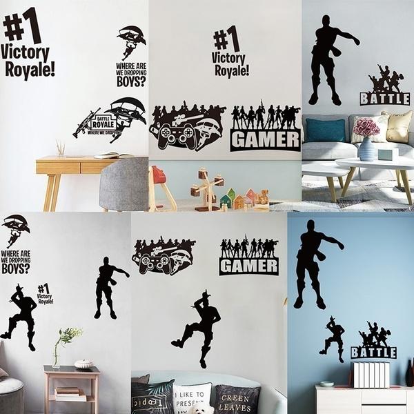 Decor, childrensroomdecoration, gamewallsticker, Posters