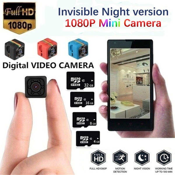 Mini, camcorderscamera, nightvision, Digital Cameras